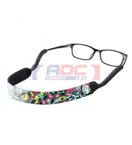 Cordon bande de lunette personnalisable en sublimation