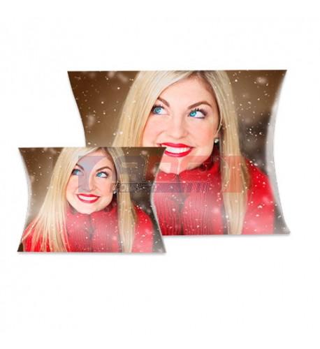 Boite cadeau personnalisable recto/verso en sublimation 200 x 140 mm