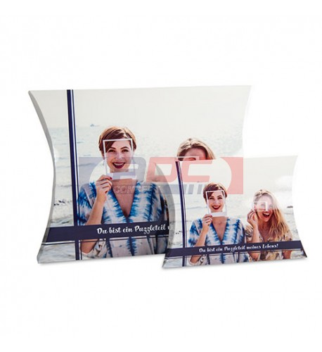 Boite cadeau personnalisable recto/verso en sublimation 320 x 240 mm