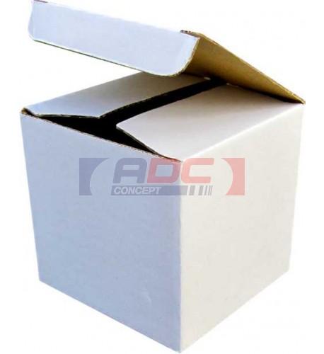 Boite cadeau blanche pour mug 10 x 10 x 10 cm