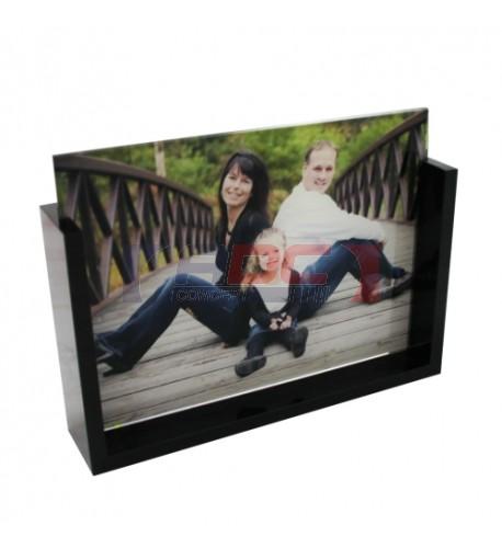 Cadre photo original en verre
