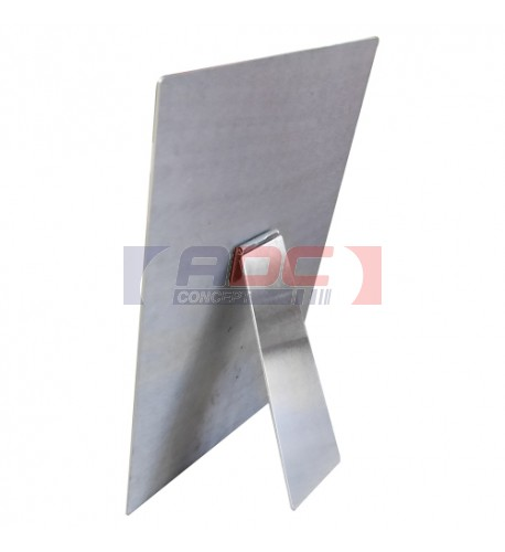 Chevalet en aluminium avec adhésif pour cadre maxi 20 x 25 cm (vendu à l'unité)