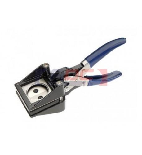 Ciseau emporte-pièce pour badge 25 mm ou 37 mm