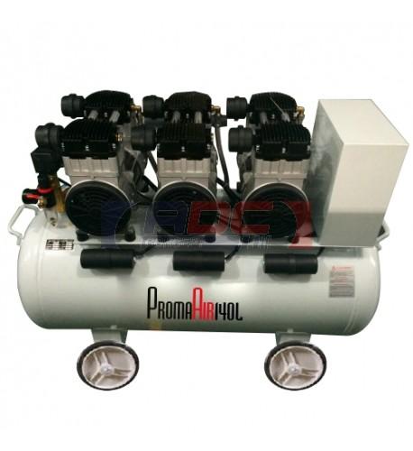 Compresseur insonorisé 140 litres 84 dbA