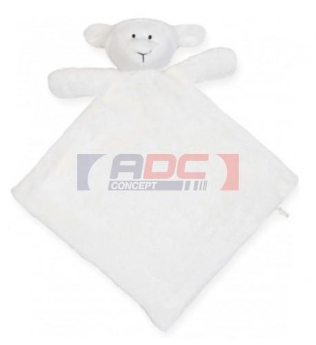 Doudou pour enfant agneau 100% polyester Mumbles MM019 (vendu à l'unité)