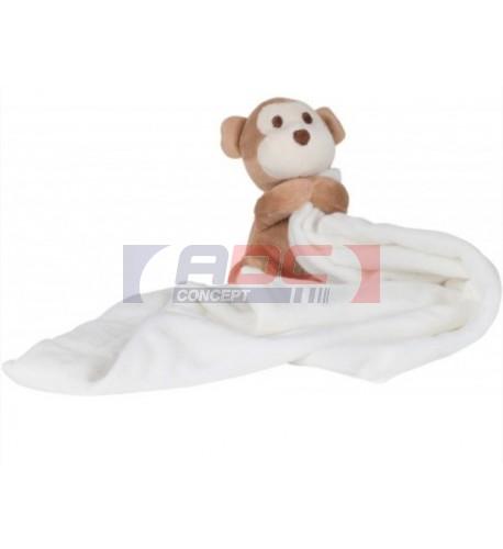 Doudou pour enfant singe 100% polyester Mumbles MM020 (vendu à l'unité)