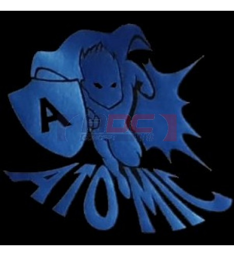 "PU FlexCut Atomic Bleu 05 ""Effet métallique irrisé"""