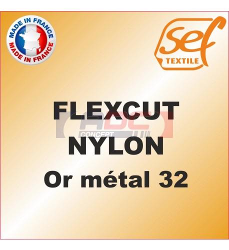 PU FlexCut Nylon Or Métal 32