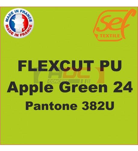 PU FlexCut Apple Green 24