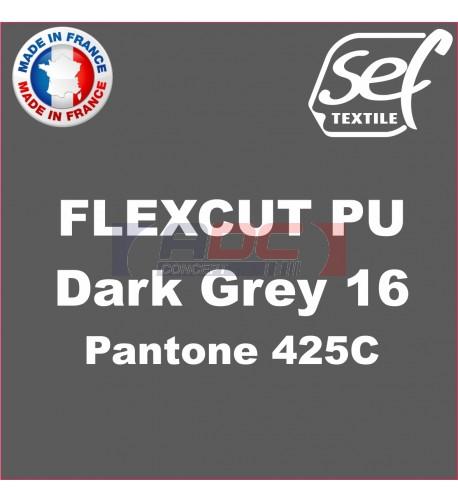 PU FlexCut Dark Grey 16