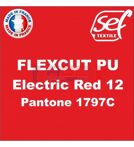 PU FlexCut Electric Red 12