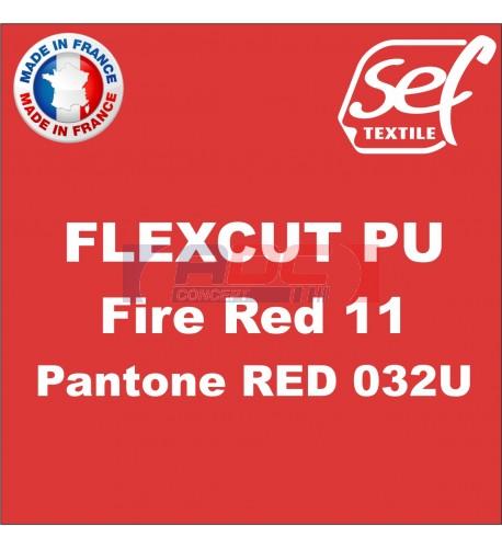 PU FlexCut Fire Red 11