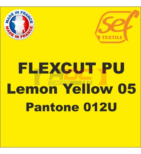 PU FlexCut Lemon Yellow 05