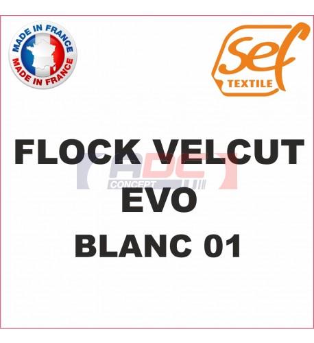 Flock VelCut Evo Blanc 01