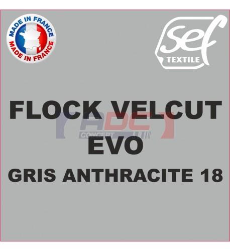 Flock VelCut Evo Gris Anthracite 18