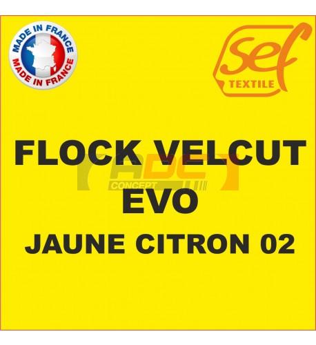 Flock VelCut Evo Jaune Citron 02