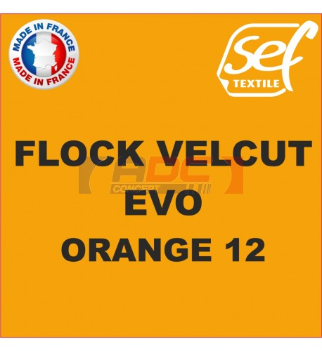 Flock VelCut Evo Orange 12