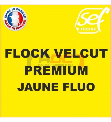 Flock VelCut Premium Jaune Fluo