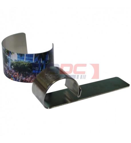 Moule en métal pour déformer les bracelets pour sublimation