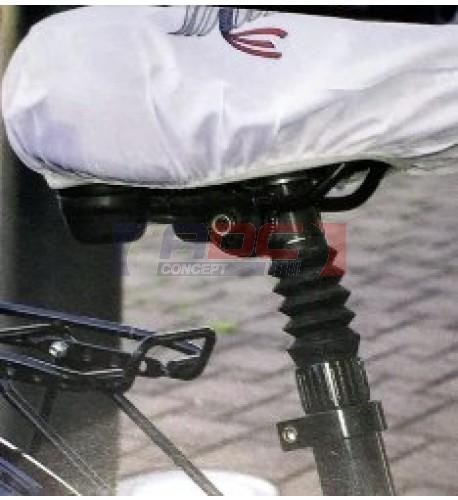 Housse de selle de vélo sublimable 24,5 x 22,5 cm (vendu à l'unité)
