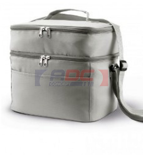 Sac isotherme double compartiment polyester KI0317