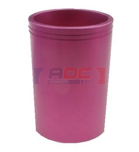 Moule pour mug conique plastique