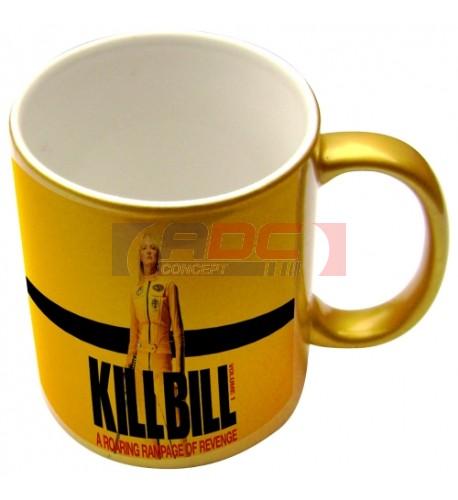 Mug coloris or effet pailleté pour sublimation ou marquage laser