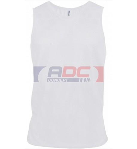 Chasuble sportif 100% polyester maille en filet XXS à XL - 9 coloris