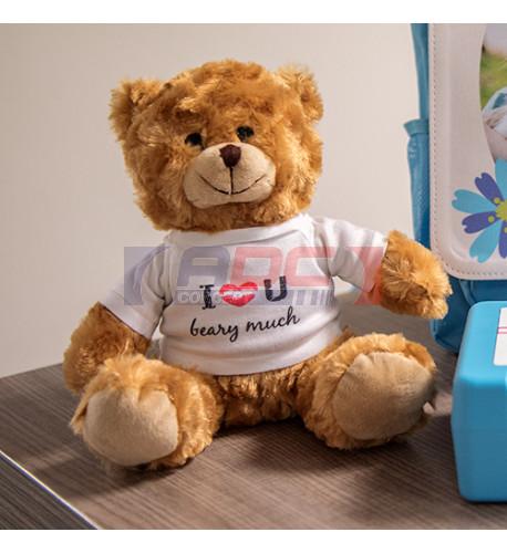Peluche ours Tim H 20 cm (vendu à l'unité)