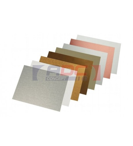 Plaque aluminium 0.5 mm
