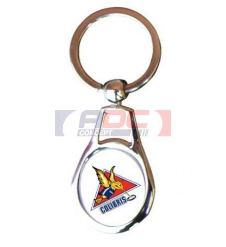 Porte-clé ovale