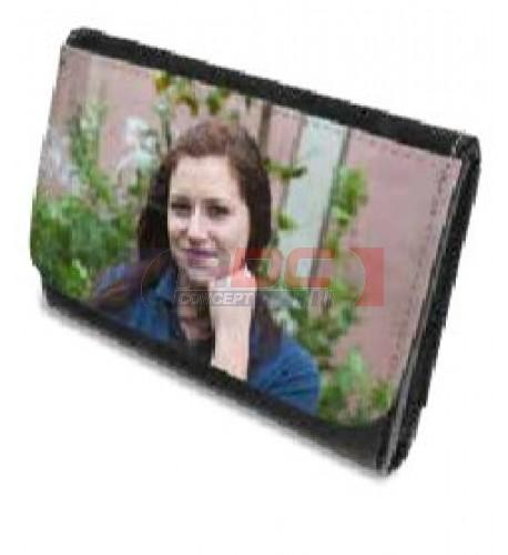Portefeuille cuir synthétique 13,5 x 10 cm