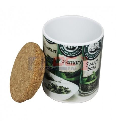 Couvercle en liège pour mugs et pots à crayons (vendu à l'unité)