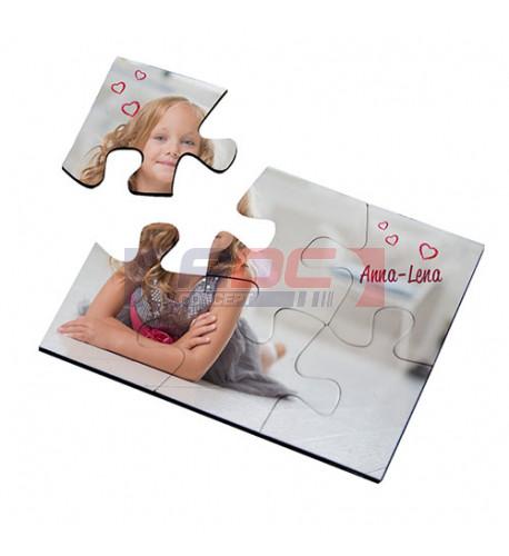 Puzzle magnétique 60 x 80 mm épaisseur 2 mm - 6 pièces