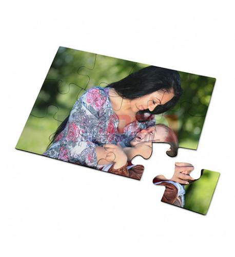 Puzzle magnétique 100 x 140 mm épaisseur 2 mm - 12 pièces