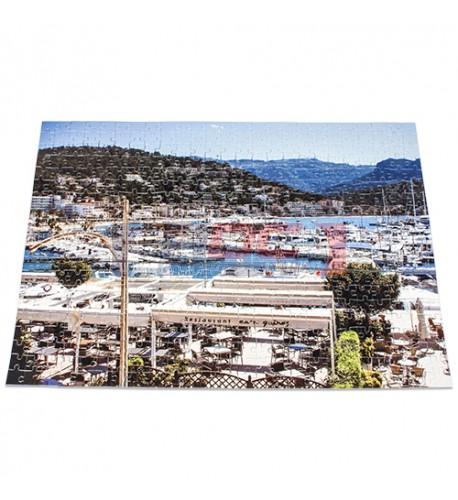 Puzzle blanc brillant 33 x 47 cm épaisseur 2 mm - 500 pièces