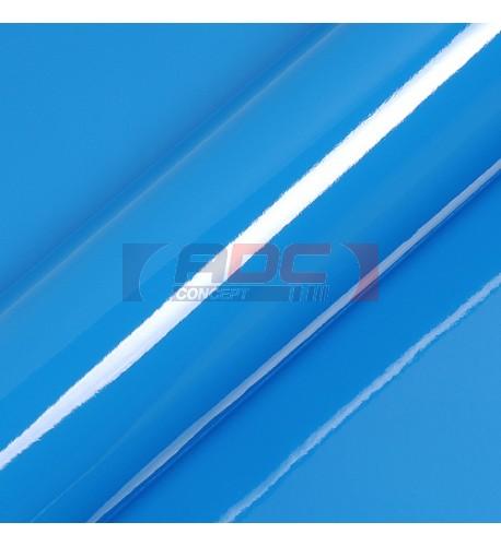 Vinyle adhésif Suptac S5005B Bleu Océan brillant - Durabilité jusqu'à 10 ans