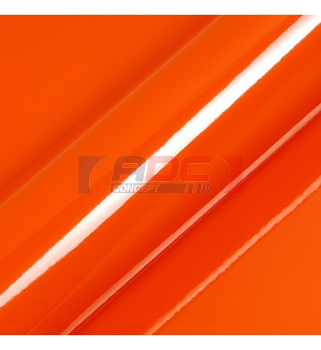 Vinyle adhésif Suptac S5165B Mandarine Brillant - Durabilité jusqu'à 10 ans