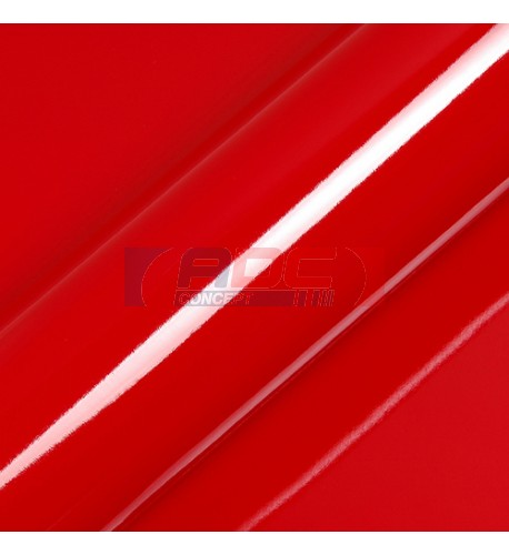 Vinyle adhésif Suptac S5186B Rouge Rubis Brillant - Durabilité jusqu'à 10 ans