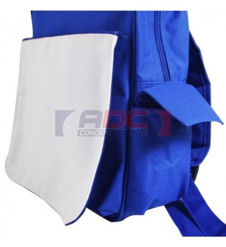 Rabat détachable pour sac à dos enfant de couleur (vendu à l'unité)