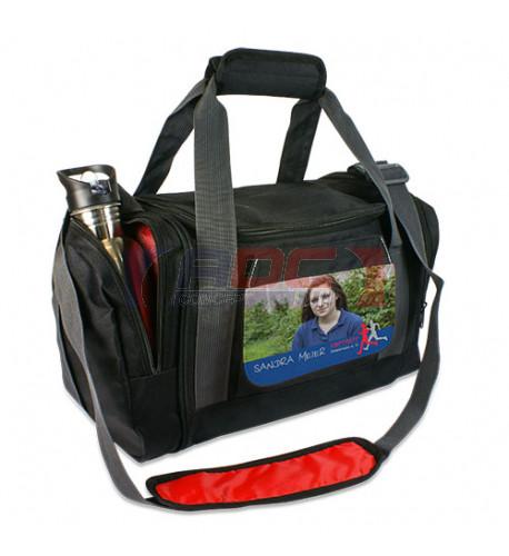 Sac de sport TEXAS 420 x 200 x 230 mm avec rabat interchangeable (vendu à l'unité)