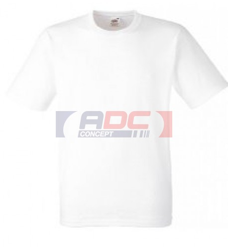 Tee-shirt blanc 100% coton 185 gr/m² S à XXXL