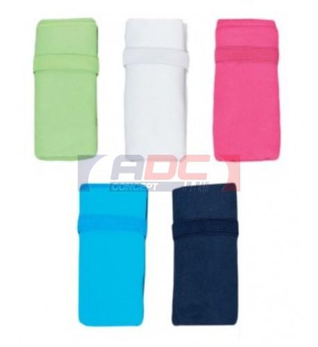 Serviette de sport 30 x 50 cm PA573 en microfibre avec élastique cousu - 6 coloris