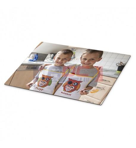 Set de table très brillant 28,5 x 39,5 cm en matière plastique avec dessous liège (vendu à l'unité)