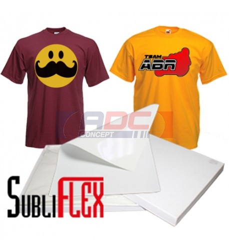 SubliFlex PU imprimable en sublimation pour textile 100% coton