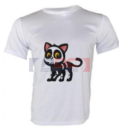 Tee-shirt Royal blanc 140 gr/m² enfant pour sublimation 3 à 12 ans (vendu à l'unité)