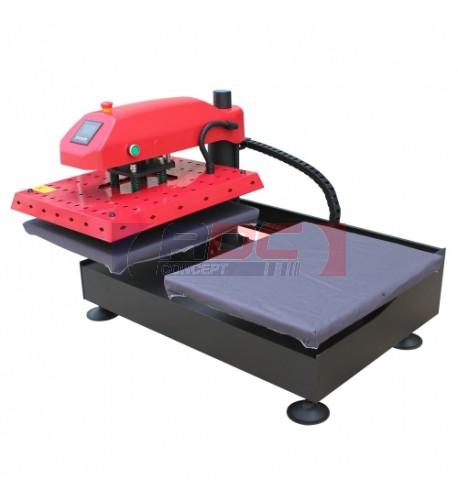 Presse pneumatique double poste format 40 x 50 cm TS-4050P2ER