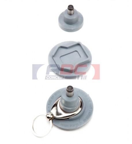 Outil UM-FT assemblage porte-clé métallique rond