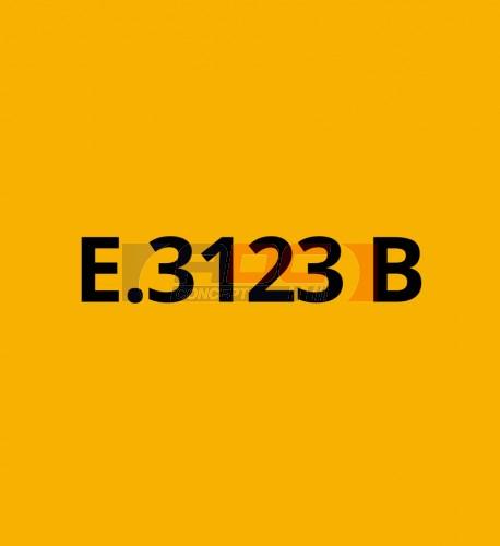 E3123B Jaune Foncé brillant - Vinyle adhésif Ecotac - Durabilité jusqu'à 6 ans