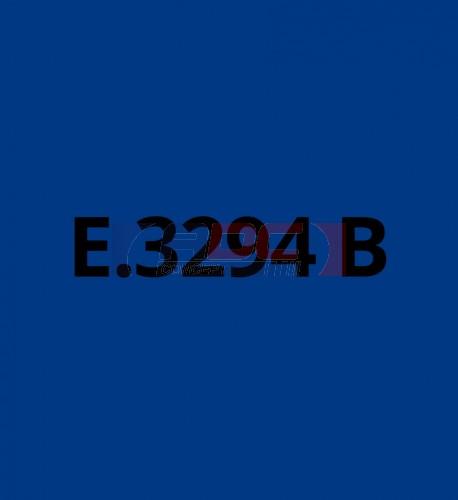 E3294B Bleu Cobalt brillant - Vinyle adhésif Ecotac - Durabilité jusqu'à 6 ans